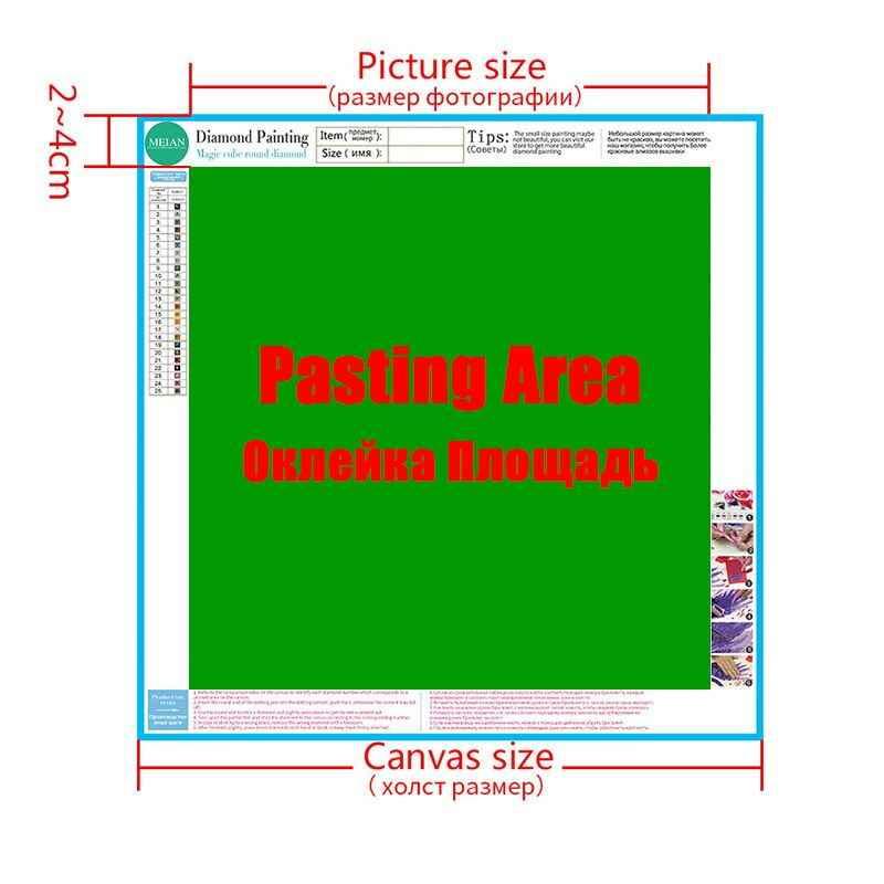 Meian 5D Broca Cheia de Diamantes Bordados DIY Diamante Pintura Peônia Florais Cross Stitch Kits Daimond Mosaico 2019 Decoração de Casa