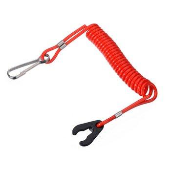 Лодочный мотор Kill Stop переключатель ключ Веревка безопасности шнур трос водонепроницаемый дизайн для Yamaha подвесной для Honda|Лодочный мотор|   | АлиЭкспресс