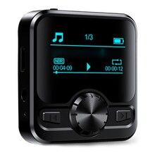 M9 MP3 çalar ses kaydedici taşınabilir dijital FM radyo desteği BT fonksiyonu ile 3.5mm kulaklık Metal şarj edilebilir pil