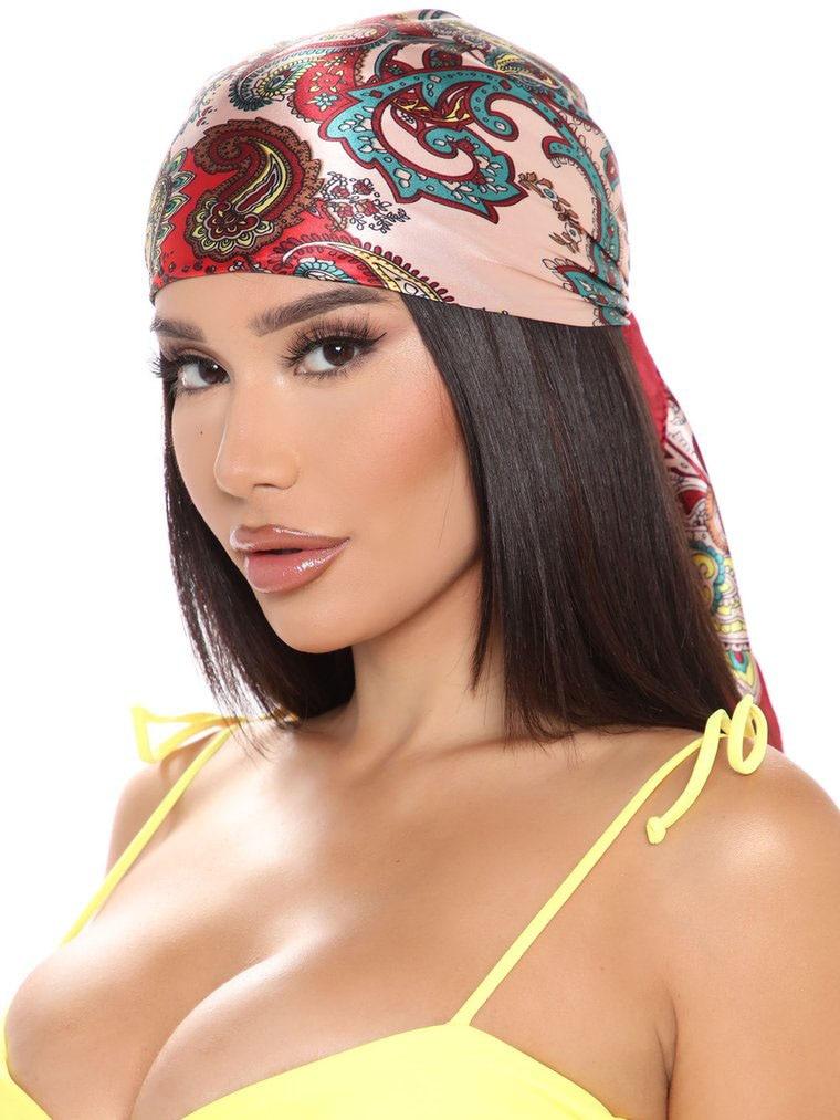 AWAYTR Square Silk scarf 60*60cm Headband hairbands Hair Hoop Accessories For Women Girl