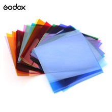 Godox SA-11C Color Effects Set Color Filters for Godox S30 Focusing LED Video Light studio photography accessories