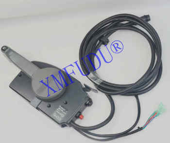 703-48230 New Outboard Engine Remote Control Box Assy ,for Yamaha Boat Motor,7 Pins pull to open 703-48230-12-00