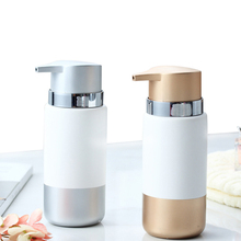 350ml Liquid Soap Dispenser Hand Sanitizer Shampoo Shower Ceramics Soap Bottle Pump ABS Pressing Head Bathroom Kitchen Wash Hand brass polished golden silver hand sanitizer bottle european style bathroom solid counter top appliance soap dispenser a 011