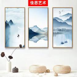 Новый декоративный в китайском стиле живопись Гостиная Ресторан настенное украшение вход электросчетчик Library спальня M