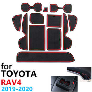 Anti-Slip Rubber Cup Cushion Door Groove Mat for Toyota RAV4 XA50 RAV 4 50 MK5 2019 2020 Accessories Car Stickers mat for phone - DISCOUNT ITEM  43 OFF Automobiles & Motorcycles