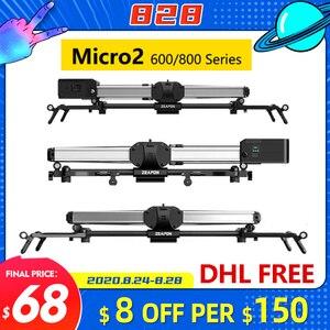 Image 1 - Zeapon Micro 2 E600 E800 M600 M800 Cursore Fotocamera Professionale Motorizzare Pista Dolly Sistema Ferroviario Per Le Fotocamere REFLEX Digitali Sony BMCC canon