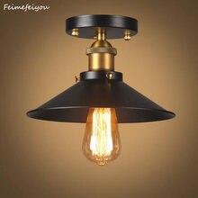 Американская страна промышленная лампа для балкона потолочный