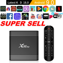 TTVBOX X96 Air 8K Android 9.0 Smart TV Box 4GB 64GB Quad cor