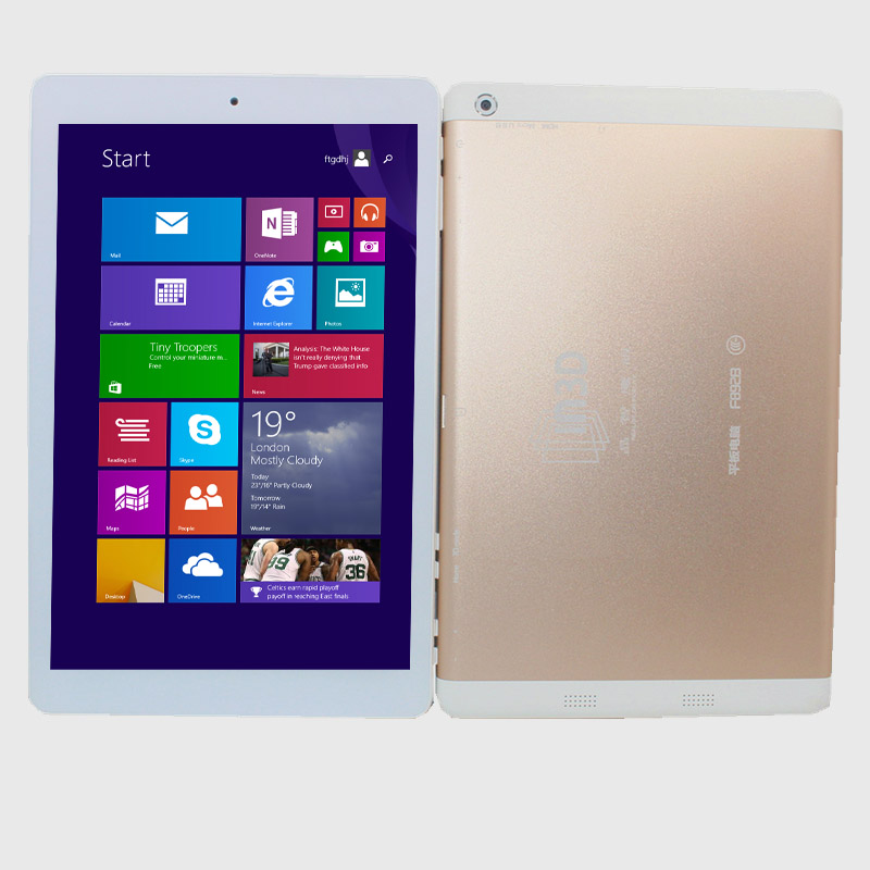 8.9inch  Windows10 TabletPC 3D Screen  With Original Leather Case   2GB/32GB HDMI 1920 X 1200 IPS