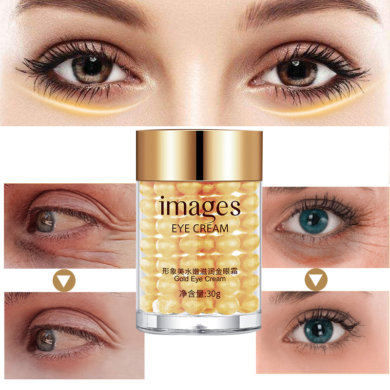 Gold Eye Cream Remove Anti Wrinkles Collagen Hydra Moisturizing Eye Gel Remove Eye Bag Anti Puffiness Dark Circles Eye Care