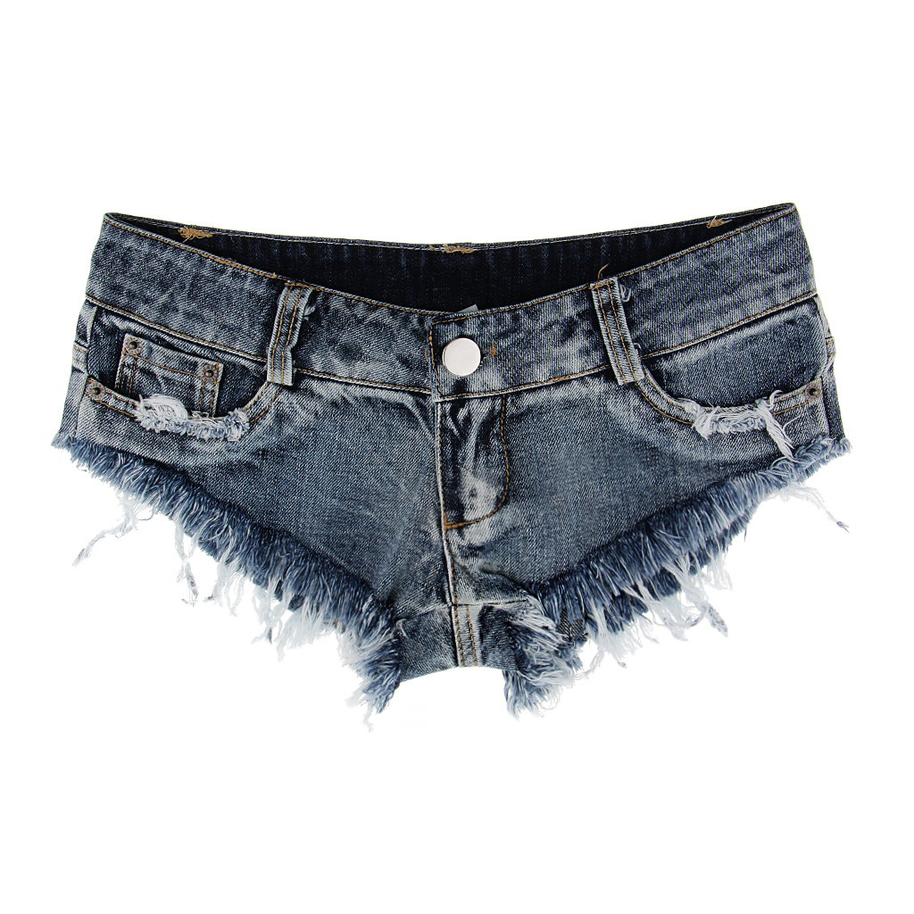 Low Waist Shorts Mini Hot Pants Jeans Micro Sports Denim Beach Casual Lady Sexy Jeans Shorts Erotic Culb Wear Bikini Bottom