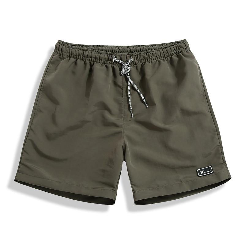 Man Shorts Elastic-Waist Plus-Size Mens Casual New Hot 5XL Homme Comfortable