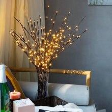 20 лампочек декоративный светильник с питанием от батареек высокий