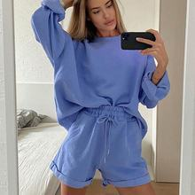 Women Tracksuit Two Piece Set Oversize Sweatshirt Tops & Pants Outfits Casual Suit Female Sport Suit Ropa Deportiva Mujer 2020