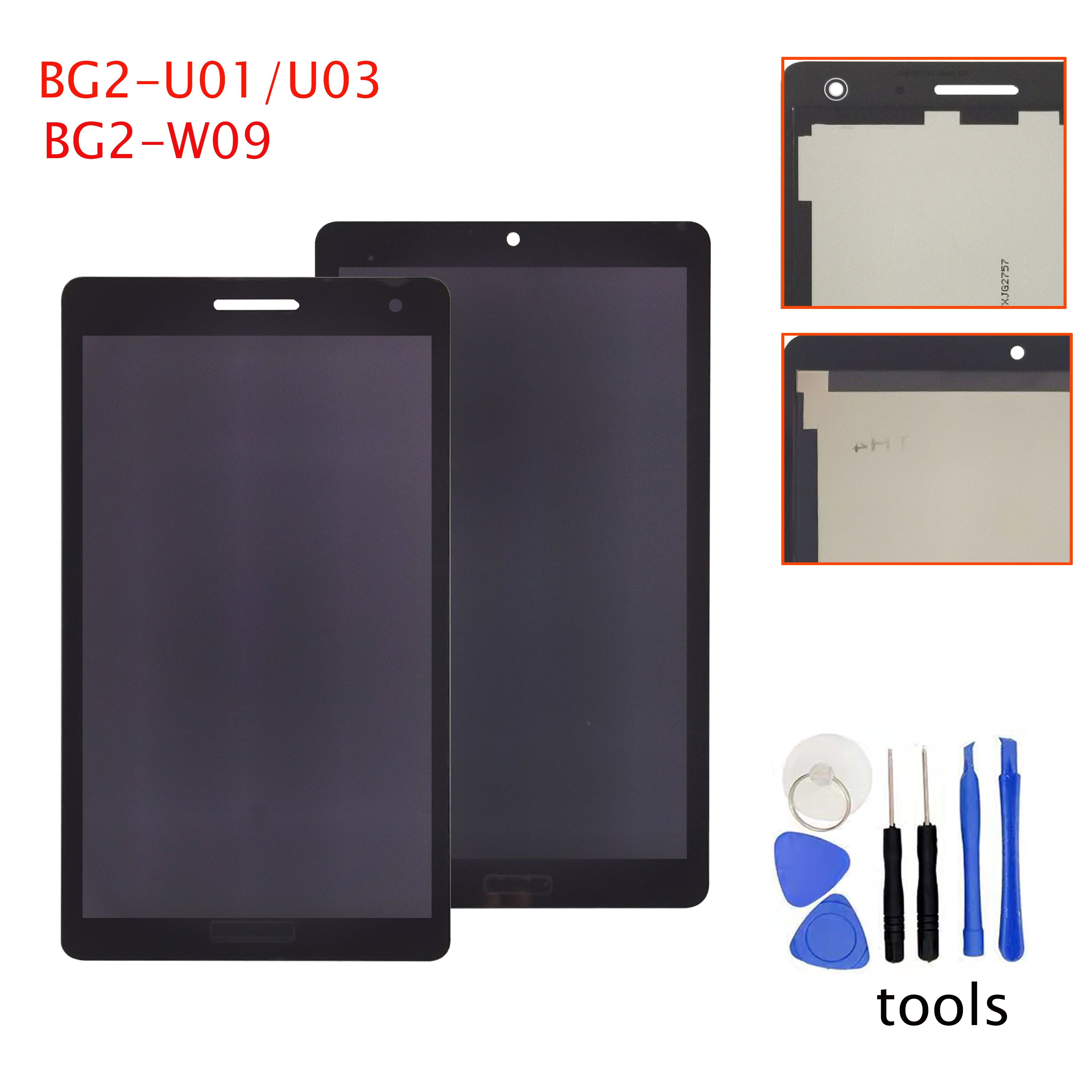 Для Huawei Mediapad T3 7,0 BG2-W09 BG2-U01 BG2-U03 TV070WSM-TH5 TV070WSM, ЖК-дисплей, сенсорный экран, дигитайзер, для сборки