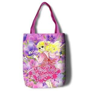 Image 2 - Lady Georgie Cartoon Large Capacity bag Shoulder Shopper lady handbag women shopping Leisure Fashion Satchel bag