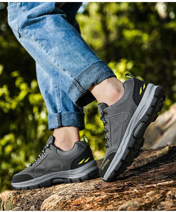 quente botas masculinas ao ar livre caminhadas sapatos de trabalho size896