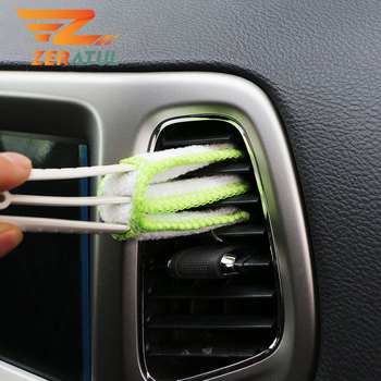 Zeratul 2020 New Car Cleaning Double Side Brush for Mercedes Benz C Class W204 C180 C200 W221 W222 S63 S63s S65 AMG 2008 - 2020 image
