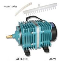 35/58/80/120/160/200/320/390W Electromagnetic Air Compressor Pump Oxygen Aquarium Fish Pond Compressor HydroponicAir Aerator