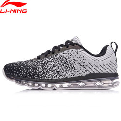 Li-Ning Women Bubble Max Classical Shoes Air Cushion Mono Yarn Breathable Sneakers LiNing Reflective Sport Shoes AGCN104