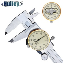 Double Way Shock Proof Metal Dial Calipers 0.01 High Resolution Stainless Steel Vernier Caliper Depth Diameter Measuring Tools