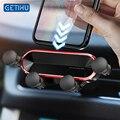 Автомобильный держатель для телефона GETIHU Gravity, подставка для мобильного телефона с креплением на вентиляционное отверстие, GPS, для iPhone 12, 11 Pro...