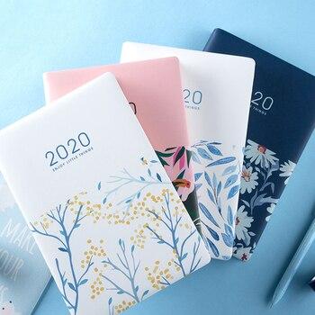 دفتر قرطاسية لطيف 12 شهرا مخطط Kawaii A5 أسبوعي شهري يومي مذكرات مخطط 2020 أجهزة الكمبيوتر المحمولة أو اللوازم المدرسية المكتبية
