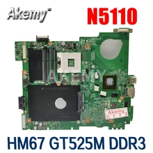 N5110 Motherboard NVIDIA Dell Inspiron Main-Board DDR3 Gt525m for 15R Nvidia/Ddr3/0j2ww8/..