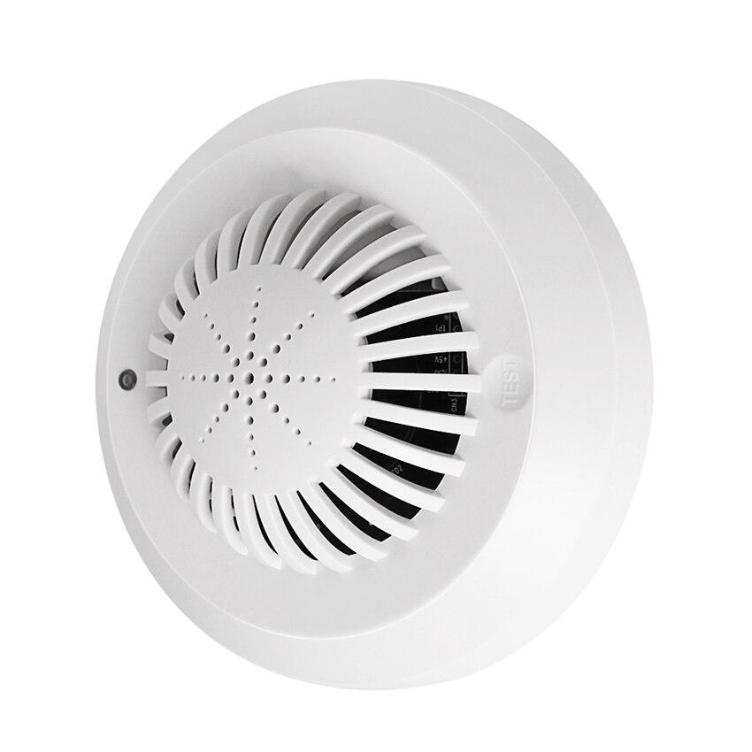 Голосовой беспроводной датчик обнаружения огня, независимый детектор дыма, голосовая подсказка низкой мощности, система пожарной