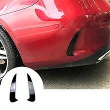 Задний бампер, спойлер на вентиляционное отверстие, накладка, аксессуары для автомобиля, Стайлинг для Mercedes Benz E Class E Coupe C238(черный