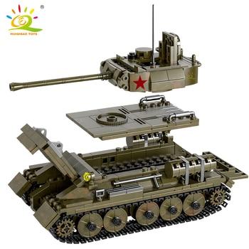 "Конструктор HUIQIBAO ""Танк Т-34"", 854 шт. 6"