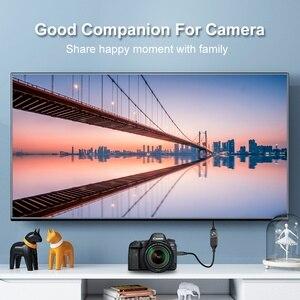 Image 2 - Cabo micro conversor fsu tipo fêmea, 1080p para hdtv, projetor de tv, macho para hdmi d micro câmera hdmi 15cm