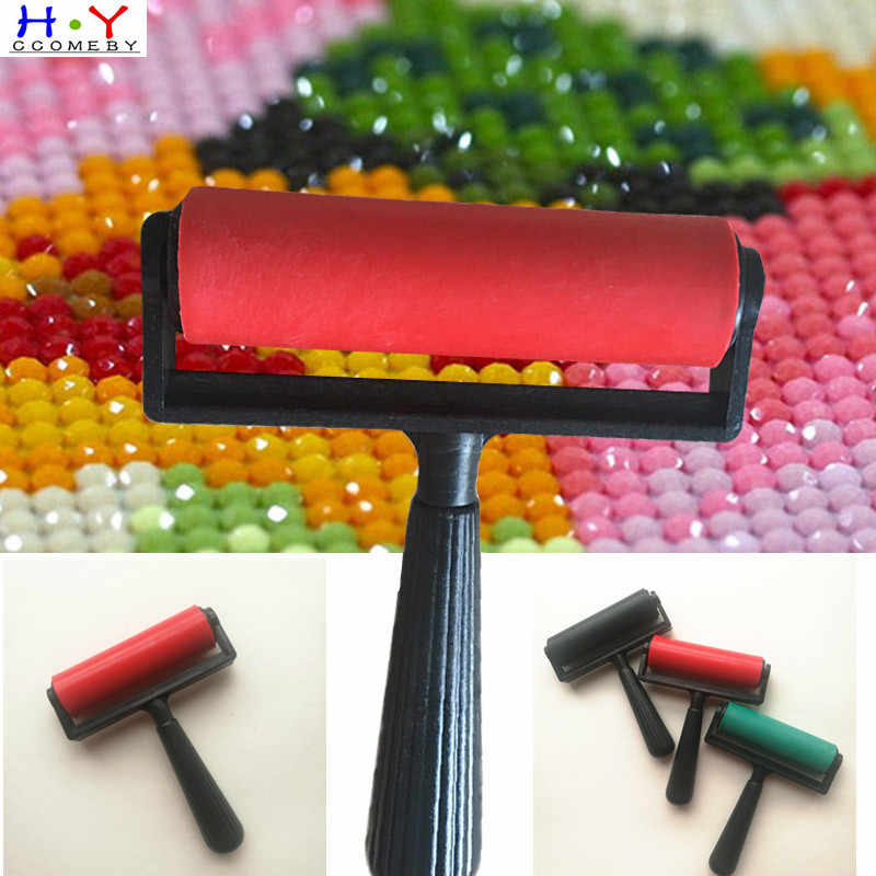 5D Diamond Painting Tool 1 Pcs Plastic Roller DIY Diamond Painting Accessories Diamond Painting Paste Sturdy 3 Colors Hot