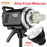 Godox MS200 200W or MS300 300W 2.4G Built in Wireless Receiver Lightweight Compact and Durable Bowens Mount Studio Flash