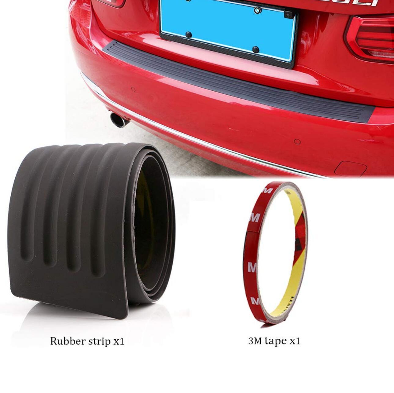Car Styling Rear Bumper Scuff Cover Sticker For Kia Magentis Optima 3 4  Sorento Sportage Toyota Prius RAV 4 Yaris Accessories-in Car Stickers from Automobiles & Motorcycles