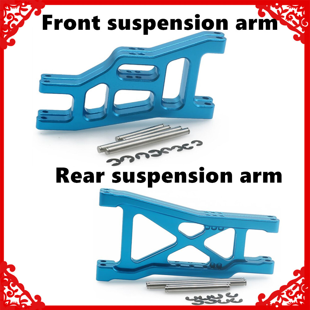 Alloy 2PCS Front&Rear Lower Suspension Arm For RC Hobby Model Car 1/10 Traxxas Slash 2wd Short Course Upgrade Parts
