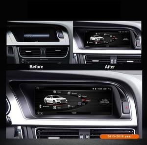 """Image 2 - 8 Core 8.8 """"unité de tête de voiture pour Audi A4 B8 2009 2016 Android 9.0 système WIFI Google IPS Touch stéréo BT Carplay 4G LTE 4 + 64G GPS"""