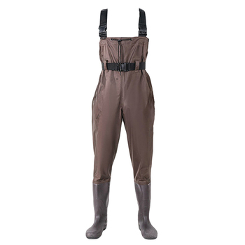 Men's Women  Camouflage Comfortable Pant Waterproof Bootfoot Fly Fishing Chest Rubber Waders Wading Boots Suit