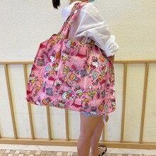 Bag Handbags Tote-Bag T-Shirt Foldable Large-Size Waterproof High-Quality