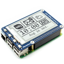 Waveshare 2.7Inch E Paper,264X176,E Ink Display HAT for Raspberry Pi 2B/3B/Zero/Zero W,Color:Black,White,SPI Interface