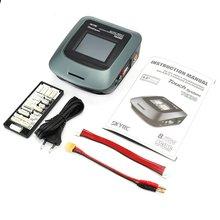SkyRC T6X80 SK-100160-01 AC/DC Профессиональный 3.2in сенсорный ЖК-экран RC LiPo/LiFe/Lilon батарея баланс зарядное устройство Dis зарядное устройство