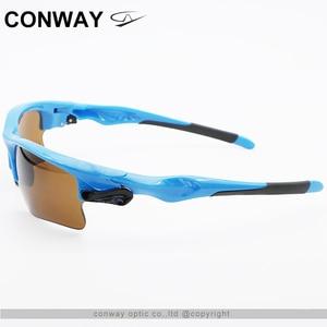 Image 3 - كونواي ريترو ساحة نظارات رياضية النظارات الشمسية PC مرآة العلامة التجارية تصميم نظارات في الهواء الطلق مكافحة وهج التكتيكية قناع عين 9102