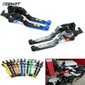 Für Kawasaki ZX 14R ZX 14R ZX14 R ZX14R 2006 2017 NEUE Motorrad Zubehör CNC Einstellbare Folding Brems Kupplung Hebel handdle auf