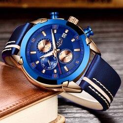 2020 nowy zegarek mężczyźni LIGE marka mężczyźni zegarki sportowe męska zegar kwarcowy człowiek dorywczo wojskowy wodoodporny zegarek na rękę relogio masculino