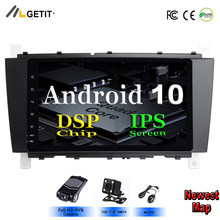 "8 ""Android 10 2 DIN DVD GPS de coche para Mercedes/Benz W203 W209 W219 clase A160 Clase C C180 C200 CLK200 radio Estéreo(China)"