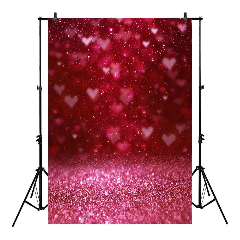 خلفية عيد الحب من Bokeh للتصوير الفوتوغرافي في عيد الحب خلفية قلب أحمر للتصوير الفوتوغرافي في استوديو التصوير الفوتوغرافي بريق لحديثي الولادة