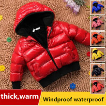 Baby wadded jacket outerwear baby cotton-padded jacket boys clothing girls child winter thickening winter child outwear 2018 baby girls cotton padded outerwear