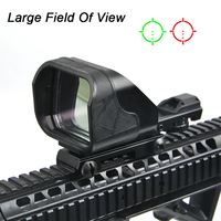 Tactical Scope Hunting Optics Riflescope Holographic Large field of view Red Dot Sight Reflex Reticle Hunting Gun Accessories