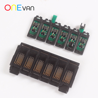 6 color UV printer cartridge chip, Epson R1390 chip,automatic reset, automatic cleaning. For ink cartridge chip printer parts