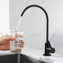 """1/4""""Kitchen Faucets Direct Drinking Tap Water Purifier Faucet for Kitchen Sink Drinking Water Anti-Osmosis Purifier tapSUS304"""
